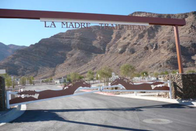 La Madre Equestrian Trailhead Rafael Construction Inc